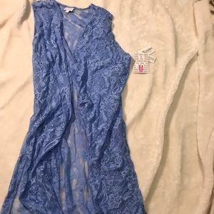 Medium Lace LuLaRoe Joy Vest.